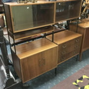 TWO VANSON BOOKCASE / CABINETS