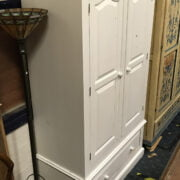 PAINTED WARDROBE WITH DRAWERS