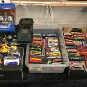 THREE BOXES OF VINTAGE TOY CARS
