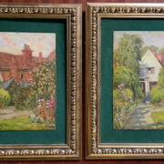 TWO HENRY CHILDE POCOCK SIGNED OILS ON BOARD 1854-1934