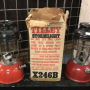 TWO TILLEY LAMPS