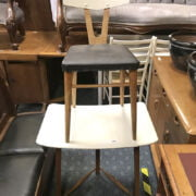 ERCOL SIDE TABLE & CHAIR