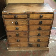 12 DRAWER COLLECTORS CHEST