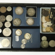 SELECTION OF VARIOUS OF COINS INCL. SILVER & COMMEMORATIVE COINS