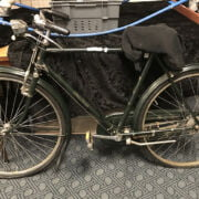 1930'S GREEN GENTS RALEIGH BICYCLE