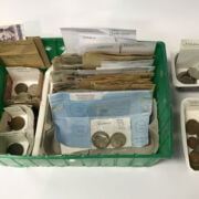 COLLECTION VINTAGE COINS & NOTES