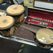 THREE MUSICAL INSTRUMENTS