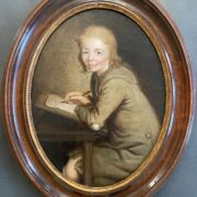GEORGE ROTH FL 1742-1778 - OIL ON CANVAS WRAPPED TO PINE PANEL ''YOUNG SCHO...