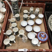 PORTMEIRION TEA SET & ASAIN CERAMICS