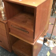 PAIR OF G-PLAN SIDE CABINET