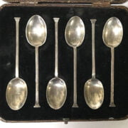 COLLECTION OF SILVER ITEMS