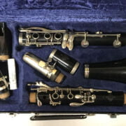 CASED CLARINET BY BUFFET - PARIS