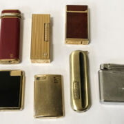 INTERESTING COLLECTION OF LIGHTERS INCL. CARTIER & DUNHILL
