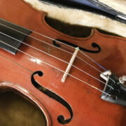 FRENCH VIOLIN LABELLED CHARLES BAILLY 1949