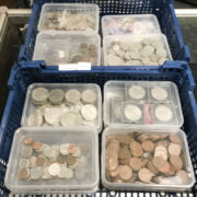 QTY OF WORLD COINS & BRITISH COINS
