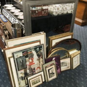 COLLECTION OF MIRRORS & PICTURES