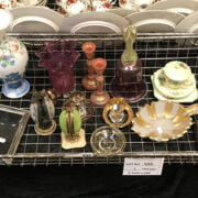 INTERESTING COLLECTION OF SILVER PLATED FRAMES & INTERESTING ITEMS INC: GLA...