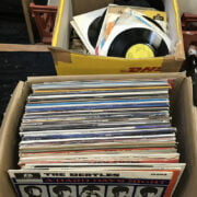 COLLECTION OF LP'S & 45'S