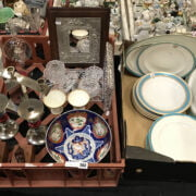 ROYAL WORCESTER PLATES & OTHER ITEMS