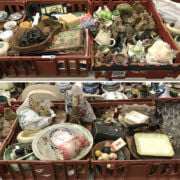 4 TRAYS OF BRIC A BRAC