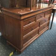 CHERRYWOOD CHEST OF 9 DRAWERS