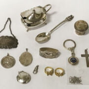 QTY OF SILVER ITEMS