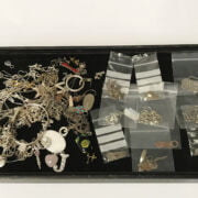 QTY OF SILVER JEWELLERY & OTHER JEWELLERY NOT SILVER