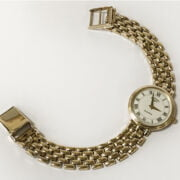 9 CT, GOLD ROTARY LADIES WRISTWATCH