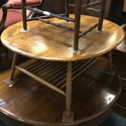 ERCOL TABLE - ONE SPINE BROKEN