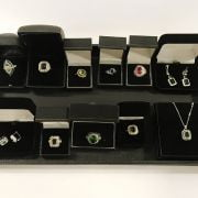 COLLECTION OF COSTUME JEWELLERY - SOME SILVER CONTENT