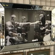 CASSIUS CLAY / SONNY LISTON MIRRORED PICTURE