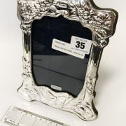 HM SILVER BUTTERFLY PHOTO FRAME