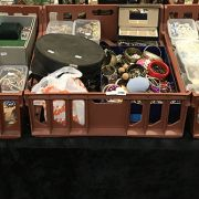 LARGE COLLECTION OF COSTUME JEWELLERY - 3 TRAYS
