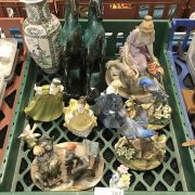 QTY OF FIGURES INCLUDING DOULTON