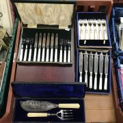 5 BOXES ASSORTED CUTLERY