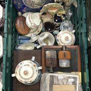QTY. OF VARIOUS OF ORIENTAL PORCELAIN & OTHER ITEMS
