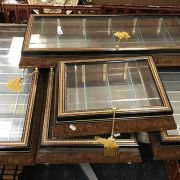 FIVE GLASS HANGING WALL CABINET