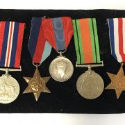COLLECTION OF MEDALS & OTHER ITEMS