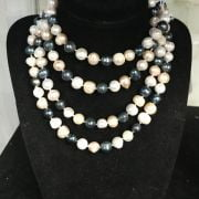 OPERA LENGTH MIXED PEARL NECKLACE - 140CM