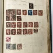 SELECTION OF VARIOUS STAMPS IN ALBUMS