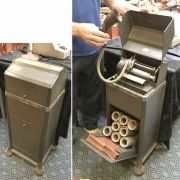 EDISON EDIPHONE PHONOGRAPH - PROTECHNIC COMPLETE WITH CYLINDERS