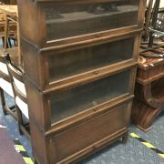 FOUR SECTION GLOBE WERNICK BOOKCASE