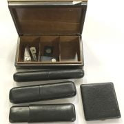 CIGARS & CASES WITH CIGAR CUTTERS ETC