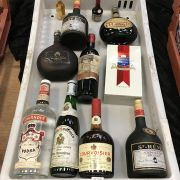 COLLECTION OF ALCOHOL