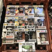 COLLECTION OF POP FUNKO FIGURES INCL. STAR WARS, MARVEL ETC