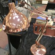 ANGLEPOISE STYLE LAMP - COPPER EFFECT