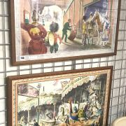 BARBARA JONES & RUSSELL REEVE LITHOGRAPHS PART OF THE SCHOOL PRINT SETS
