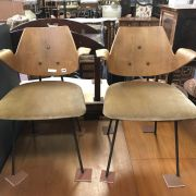 TWO 1950'S BENTWOOD CHAIRS