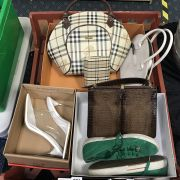 COLLECTION OF SHOES & BAGS