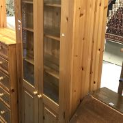 PINE DISPLAY CABINET BY PINETUM